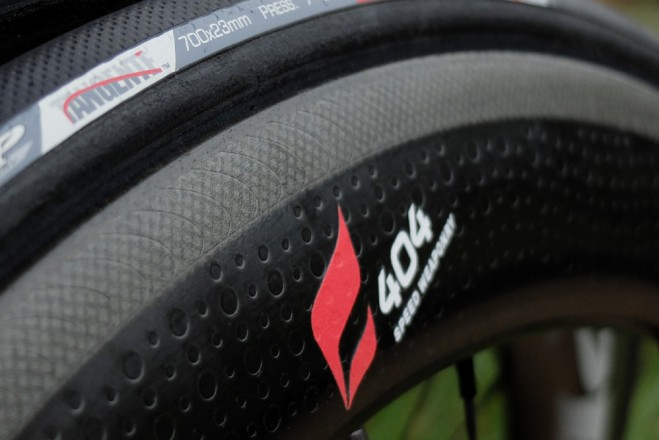 Zipp 404 Firestrike wheels