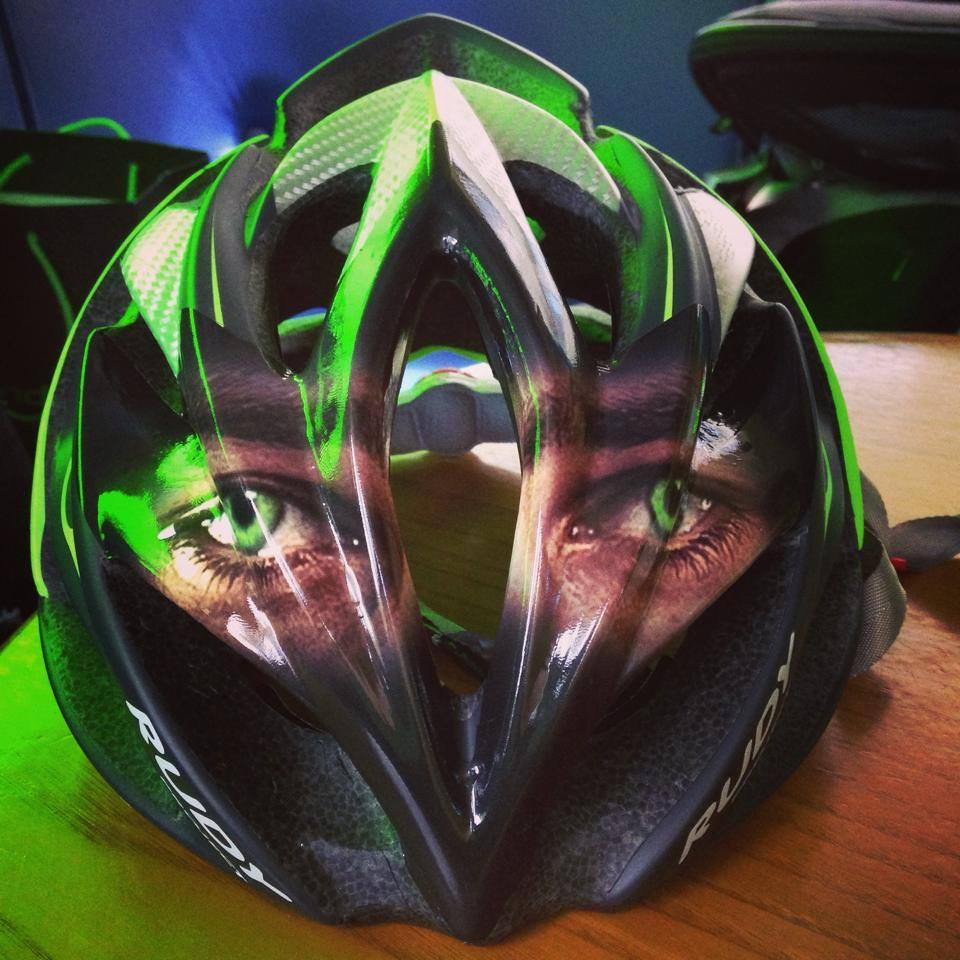 The new helmet of Peter Sagan