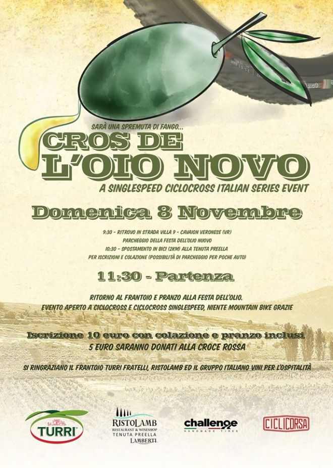 SCIS - Single Cross Italian SeriesCros de l'Oio Novo - 1^ prova SSIT