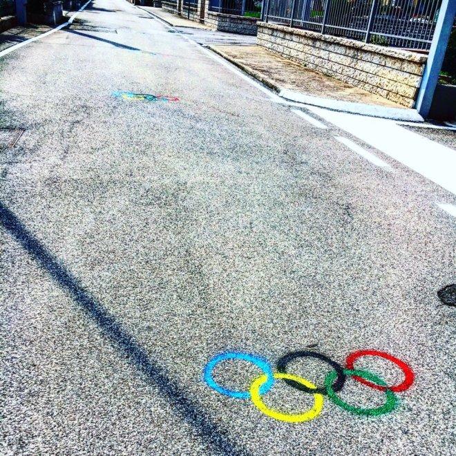 Una strada Olimpica