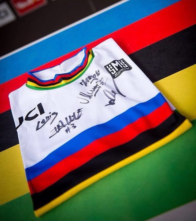 Cyclings most coveted jersey.
